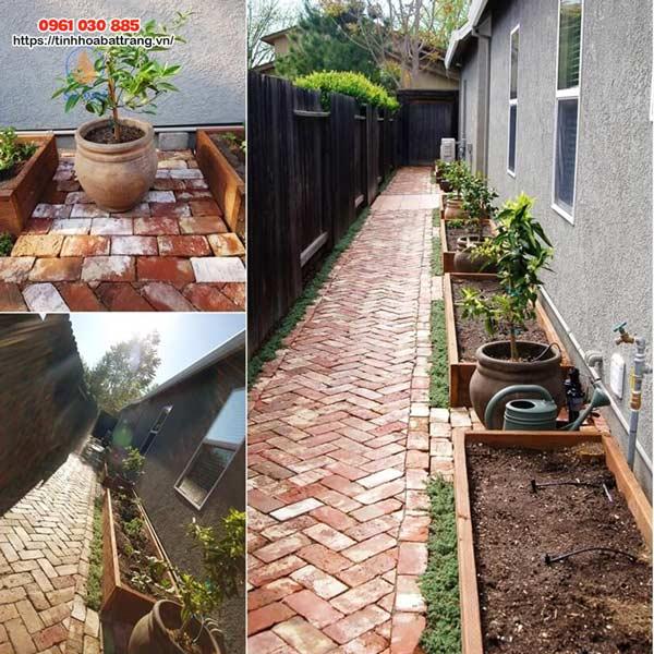 Xu hướng trang trí cho không gian sân vườn bằng các sản phẩm gốm sứ được ưa chuộng thời gian gần đây